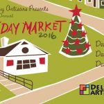 Card mailer for a Holiday Market