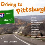 Driving to Pittsburgh Calendar