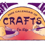 Front cover illustration for the Craft Calendar