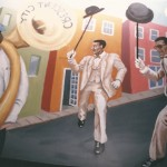 Crescent City Restaurant Mural by Ellen Hamilton