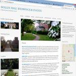 Website for a wedding venue