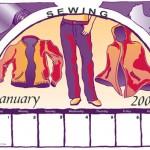 Illustration for Calendar Page