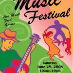 Music Festival in Del Ray Poster