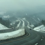 Photo: Turnpike in snow