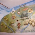 Children's bedroom mural