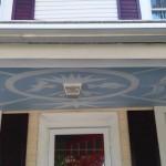 Porch ceiling mural by Ellen Hamilton