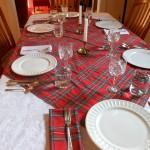 Photo: Burns Night Table Setting