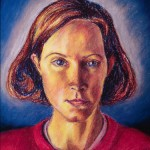 Pastel Self-Portrait: Ellen, 1992